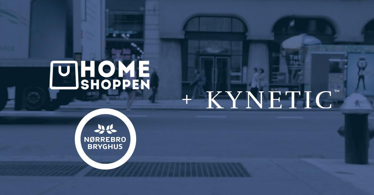 2 nye eCommerce virksomheder vælger KYNETIC som