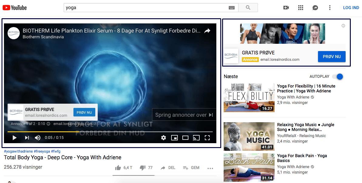 YouTube TrueView Ads